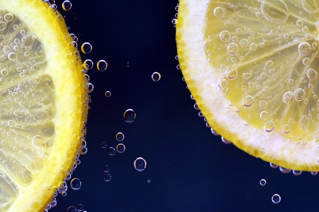 If life gives you lemons through the enneagram types image of two lemon slices