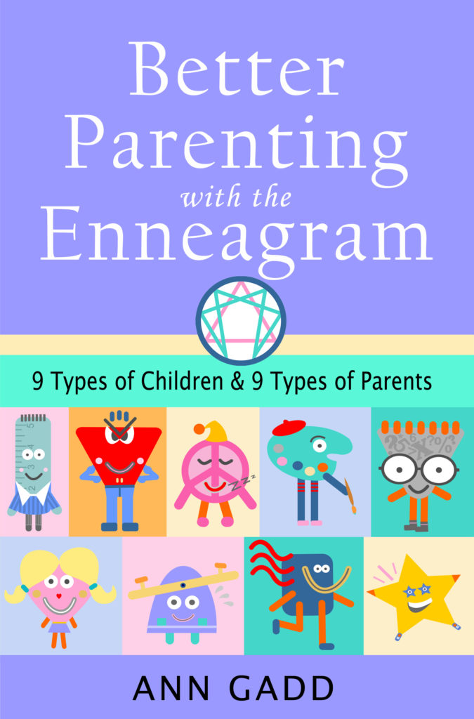 cover book better parenting with the enneagram by ann gadd
